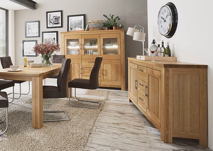 highboards sideboards vitrinen peter kling gmbh das bettenhaus m bel kling in pirmasens. Black Bedroom Furniture Sets. Home Design Ideas